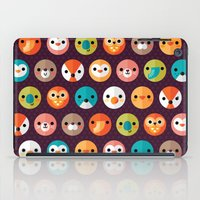 child iPad Cases featuring SMILEY FACES 1 by Daisy Beatrice