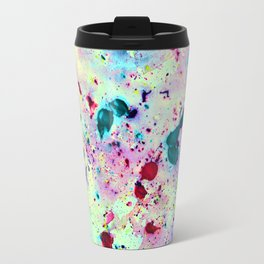 Paint Splatters Travel Mug