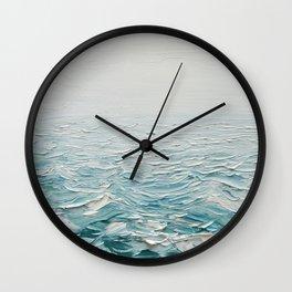 Foggy Seas Wall Clock