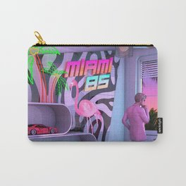 Synthwave Miami 85 Carry-All Pouch