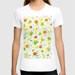 Leaves and flowers (11) T-shirt