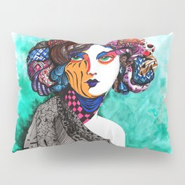"""""""When the muse come to visit"""" Pillow Sham"""