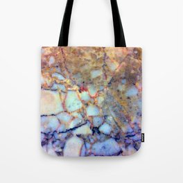 marble effect 007 (blue) Tote Bag