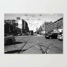 Off Queen - Spadina Avenue - North Canvas Print