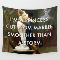 lorde Wall Tapestries featuring Pygmalion Cut From Marble by Lorde Art History