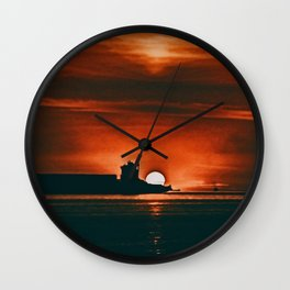 Silhouette Wall Clock