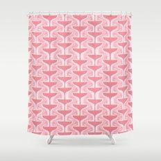 Pink Fizz Shower Curtain
