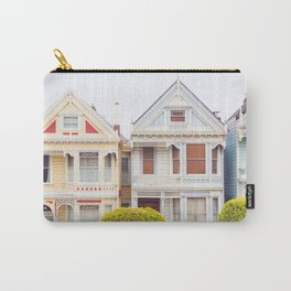 Painted Ladies - San Francisco Travel Photography Carry-All Pouch