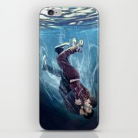 underwater iPhone & iPod Skins featuring Underwater by MGNemesi