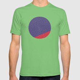 Retro Mod Flowers #5 by Friztin T-shirt