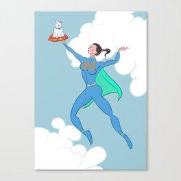 Super Nicole Canvas Print
