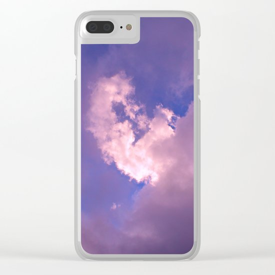 Things Are Looking Up Clear iPhone Case