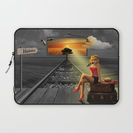 Longing for holidays and sun Laptop Sleeve