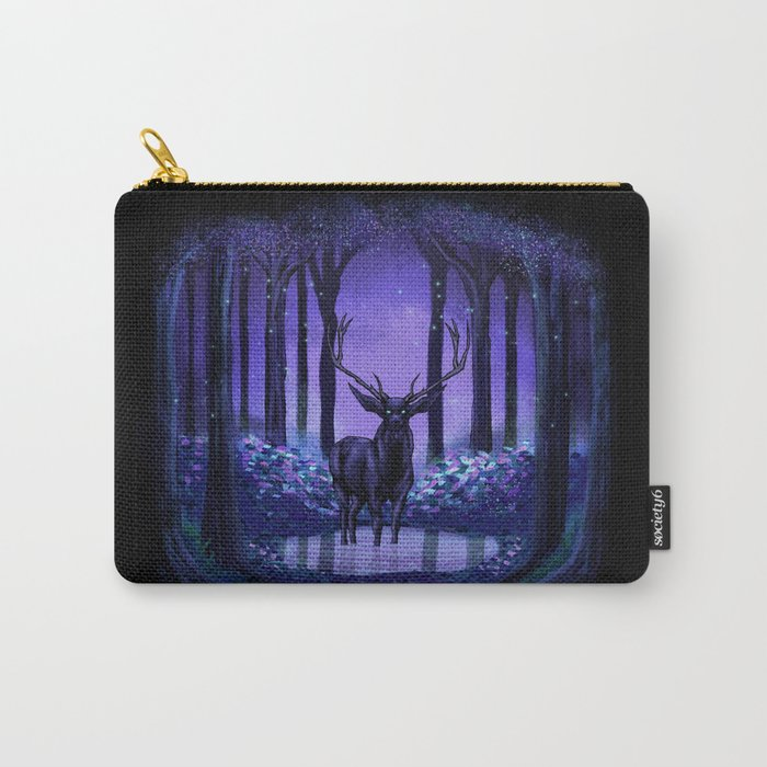 Elf Forest Carry-All Pouch