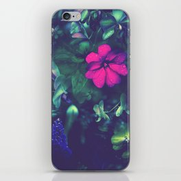 Gathering of Flowers - [Purple Version] iPhone Skin