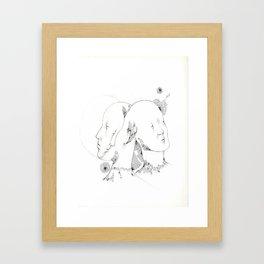 Visual Dialogue Framed Art Print