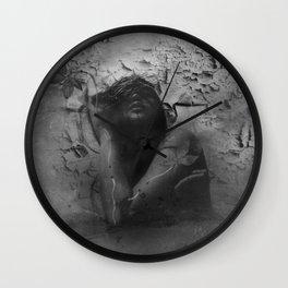 """renaissance of an eroded soul"" Wall Clock"