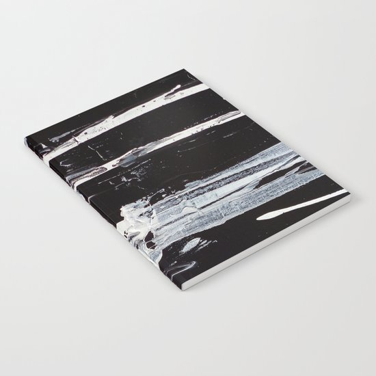 Black & White Close Up Notebook