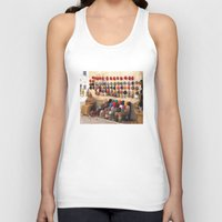 morocco Tank Tops featuring Crochet, Morocco by Mr and Mrs Quirynen