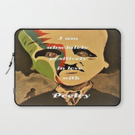 Poe, I am aboslutely, positively in love with Poetry Laptop Sleeve