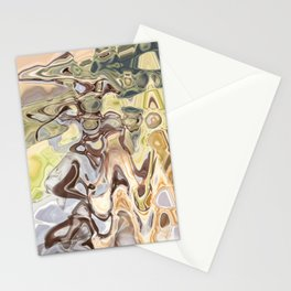 Clutch: abstract digital painting Stationery Cards