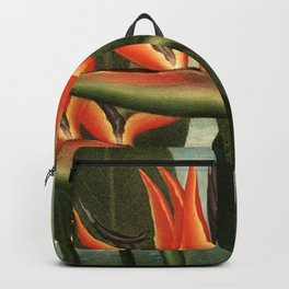 Birds of Paradise : Temple of Flora Backpack
