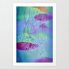 Dew Drop Dreaming Art Print