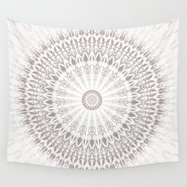 Taupe Mandala Wall Tapestry