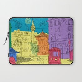 old city Laptop Sleeve