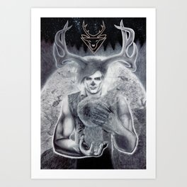 The Vision and the Veil Art Print