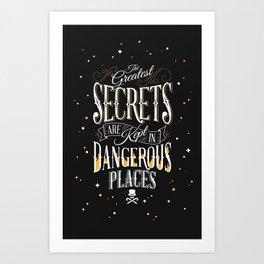 Dangerous Places Art Print
