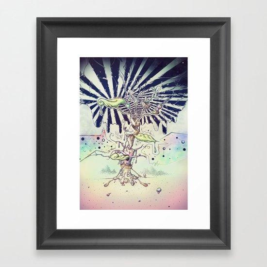Magic Beans Framed Art Print