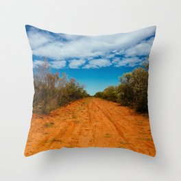 Way up north Throw Pillow