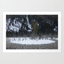 Snow Tales #3 Art Print