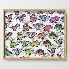 Dinosaurs Serving Tray