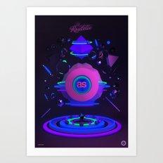 La Roulette Art Print