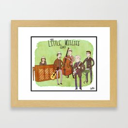 The Little Willies Framed Art Print