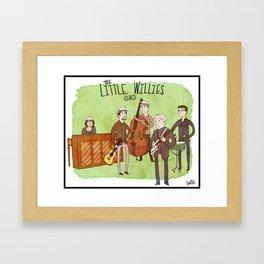 The Little Willies Framed Art Print