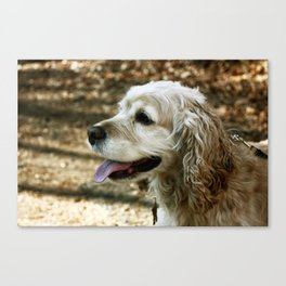 My Puppy Canvas Print