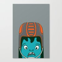 sports Canvas Prints featuring Sports?! by Aron Gelineau