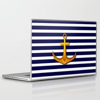 marine Laptop & iPad Skins featuring Marine by Elena Indolfi
