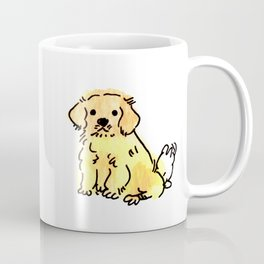 Butters - Puppy Watercolour Coffee Mug