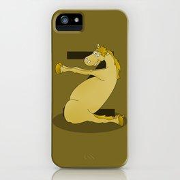 Monogram Z Pony iPhone Case