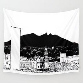 El cerro de la silla Wall Tapestry