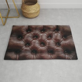 Leather you Like it or not Rug