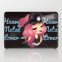 heavy metal iPad Cases featuring Heavy Metal Lover ♥ 2.0 by Chimi-uzz