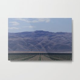 You Will Move Mountains Metal Print