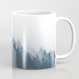 Misty Tillamook Woods Coffee Mug