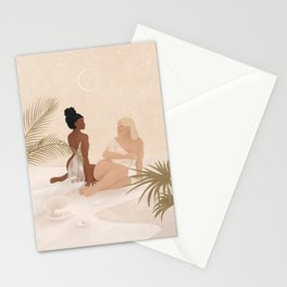 New Moon - New Beginnings Stationery Cards