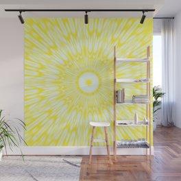 The Sun : Kaleidoscope Mandala Wall Mural